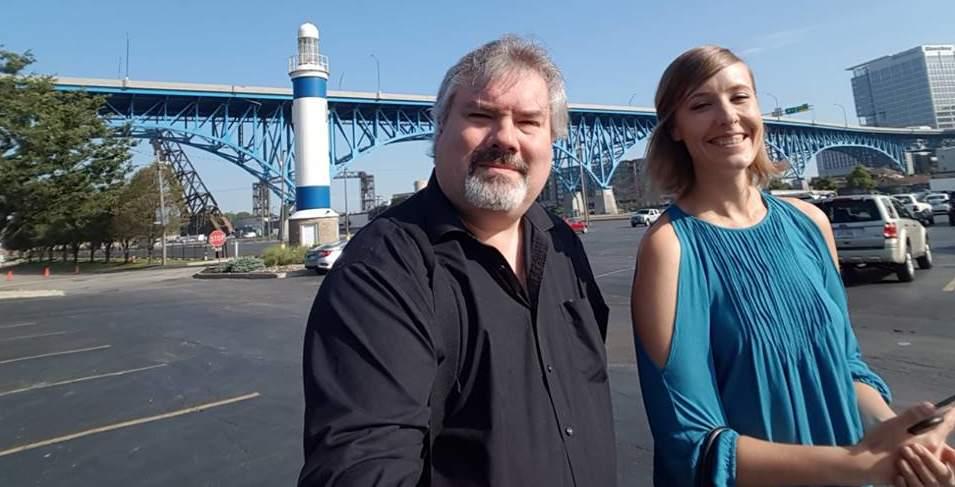 Raphael Wightman and Tiffany Hardin