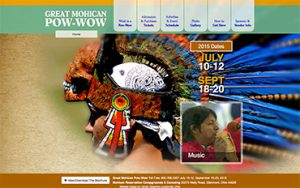 Mohican Powwow Website - Ohio Web Design