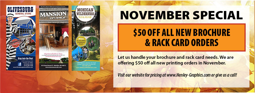 Monthly Web Special for November