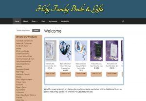 Holy Family Shop Website
