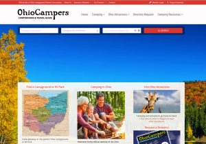 Ohio Camper Owners Association Website - Ohio Web Design