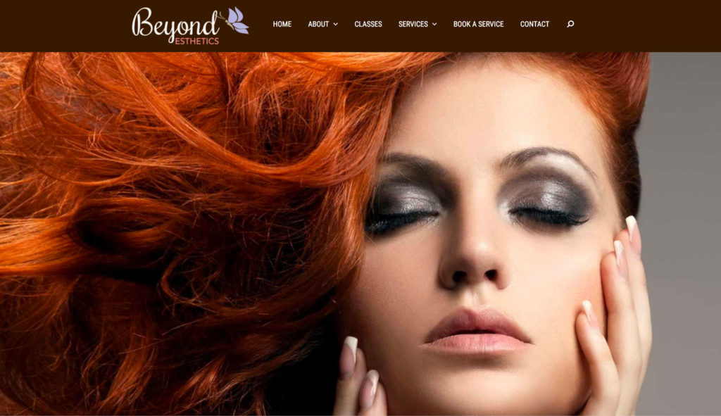 Beyond Esthetics Website