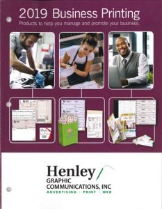 Henley Graphics Business Forms Catalog