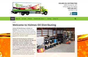 Holmes Oil Distributing Website