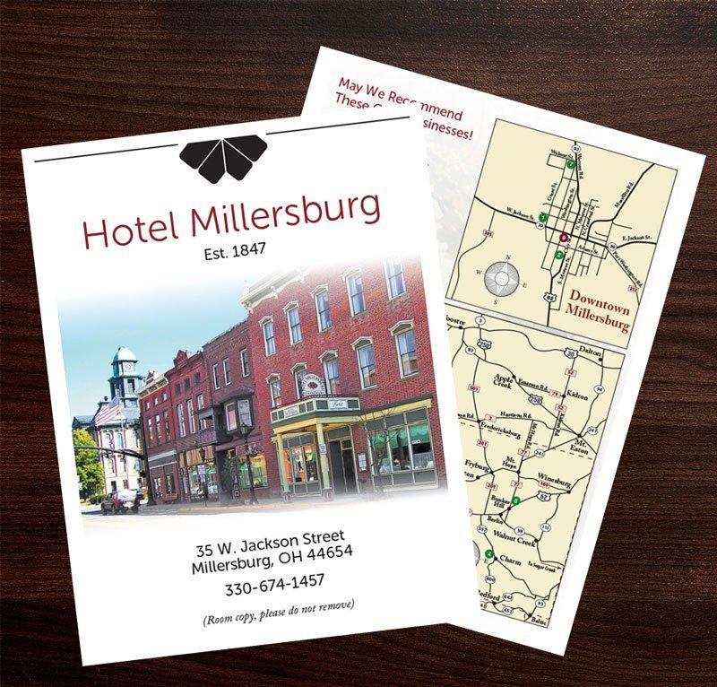 hotel millersburg room directory