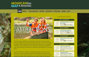 Mohican Area Map & Attractions Website